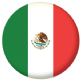Mexico Country Flag 25mm Pin Button Badge